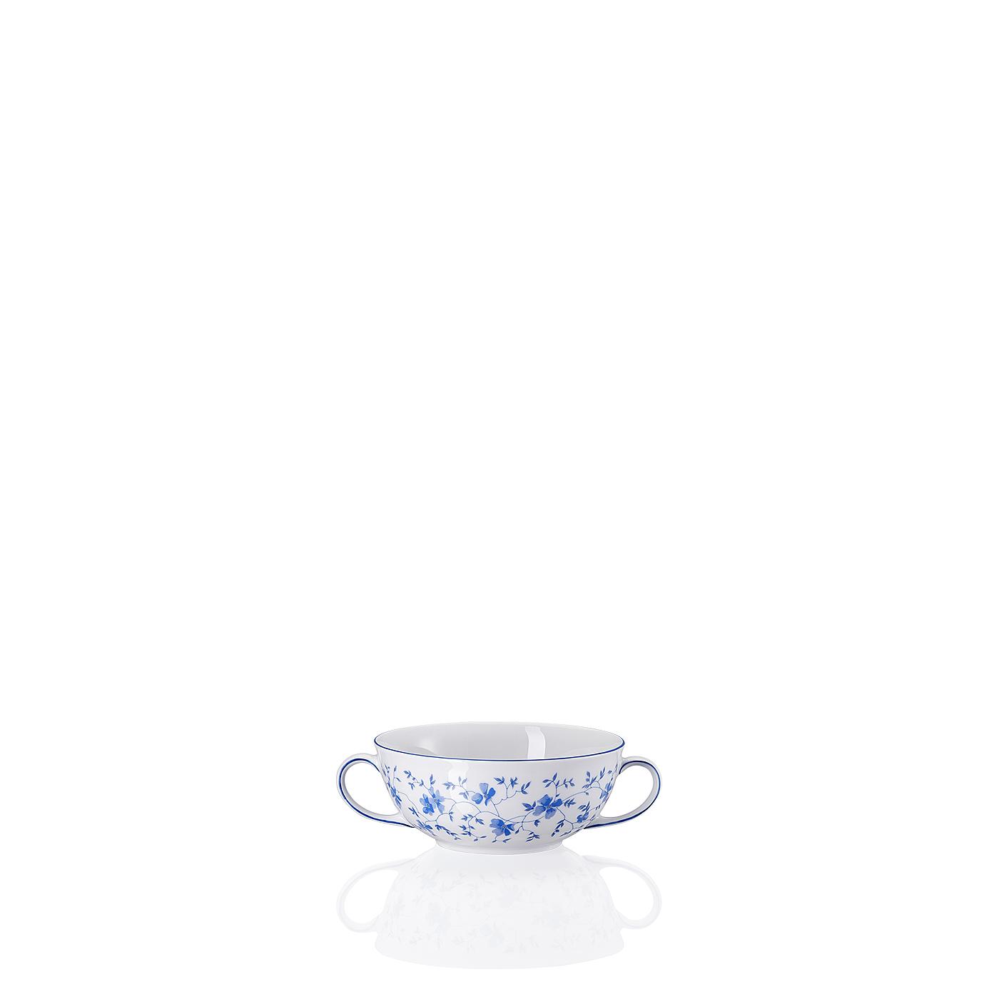 Suppen-Obertasse Form 1382 Blaublüten Arzberg