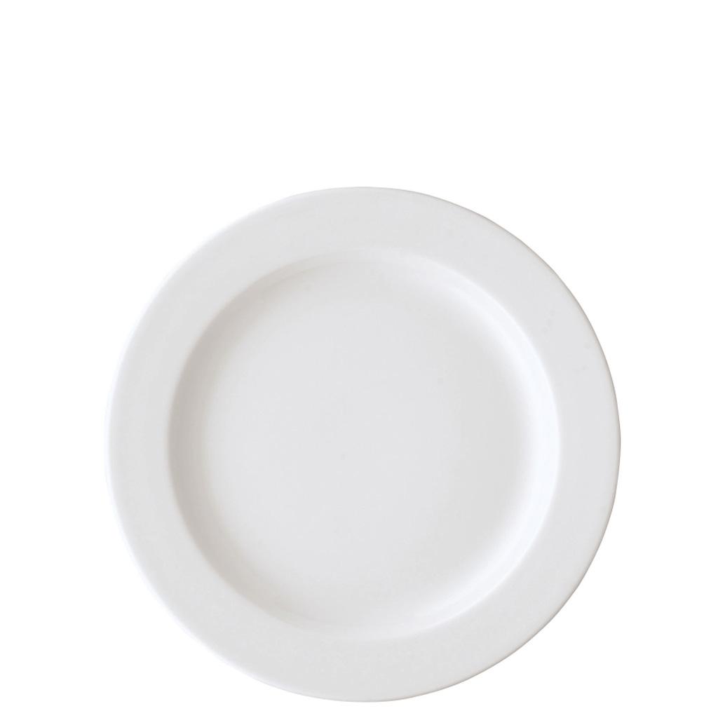 Frühstücksteller 22 cm/Fa Form 1382 Weiss Arzberg