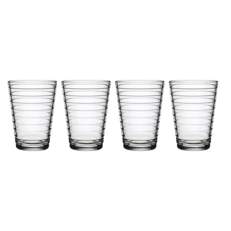 Glas - 330 ml - Klar - 4 Stück Aino Aalto Iittala