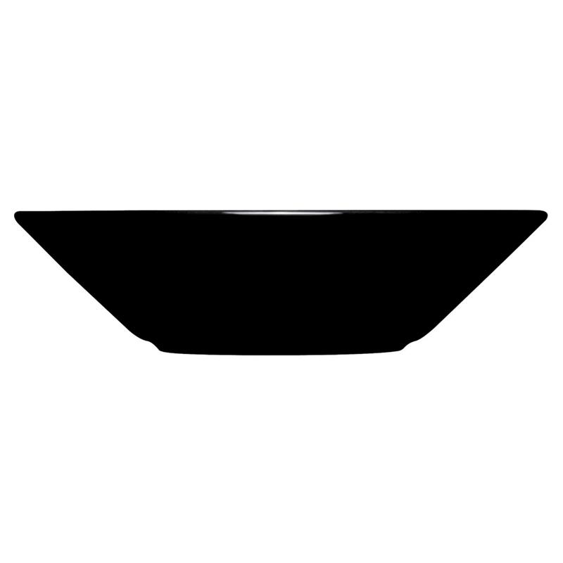 Teller Tief - 21 cm - Schwarz Teema black Iittala