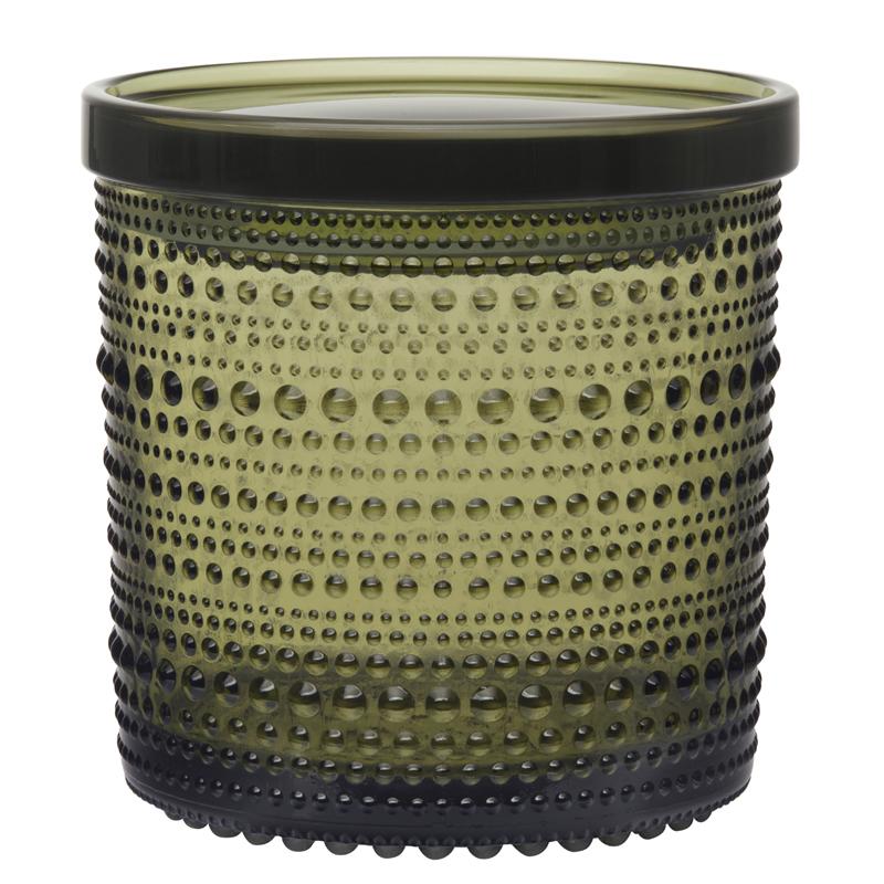 Vorratsbehälter – 11,6 x 11,4 cm – Moosgrün Kastehelmi Iittala