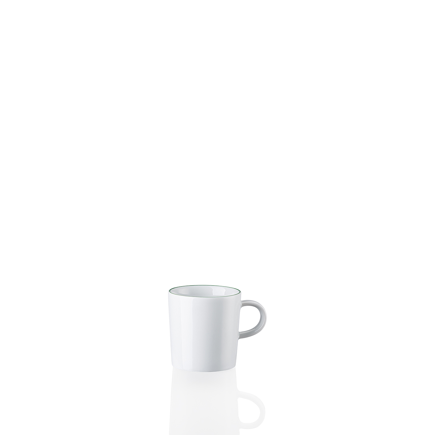 Espresso-Obertasse Cucina-Basic Colori Green Arzberg