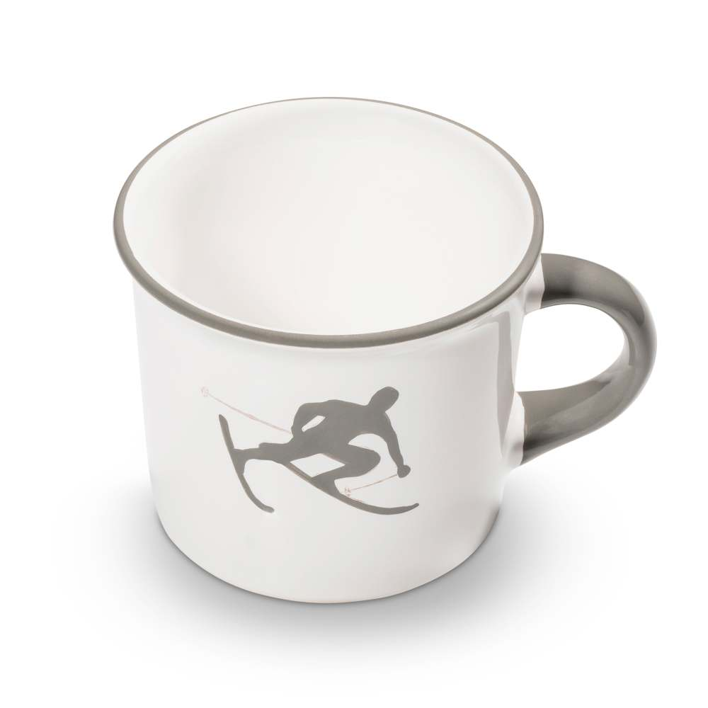 Kaffeehäferl (0,24L) Grauer Toni Gmundner Keramik