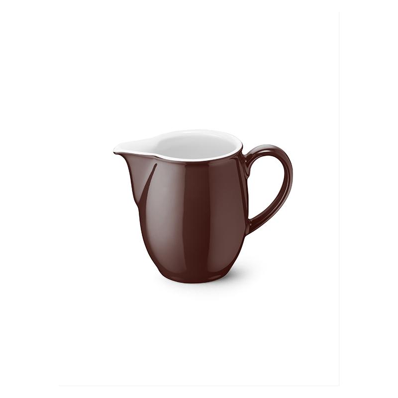 Gießer 0,15 l Solid Color Kaffeebraun Dibbern