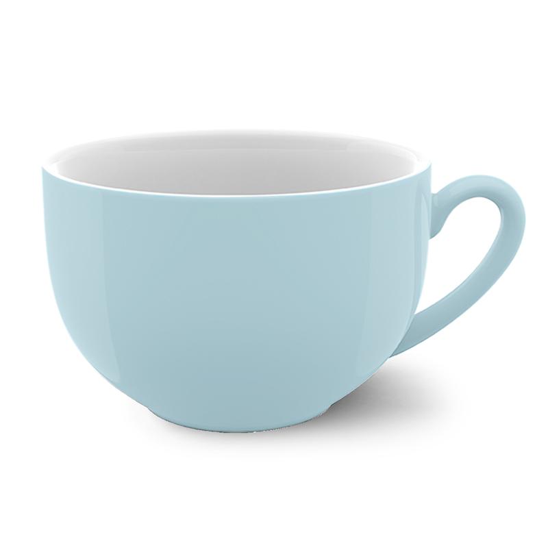 Jumbo-Obertasse 0,60 l Solid Color Eisblau Dibbern