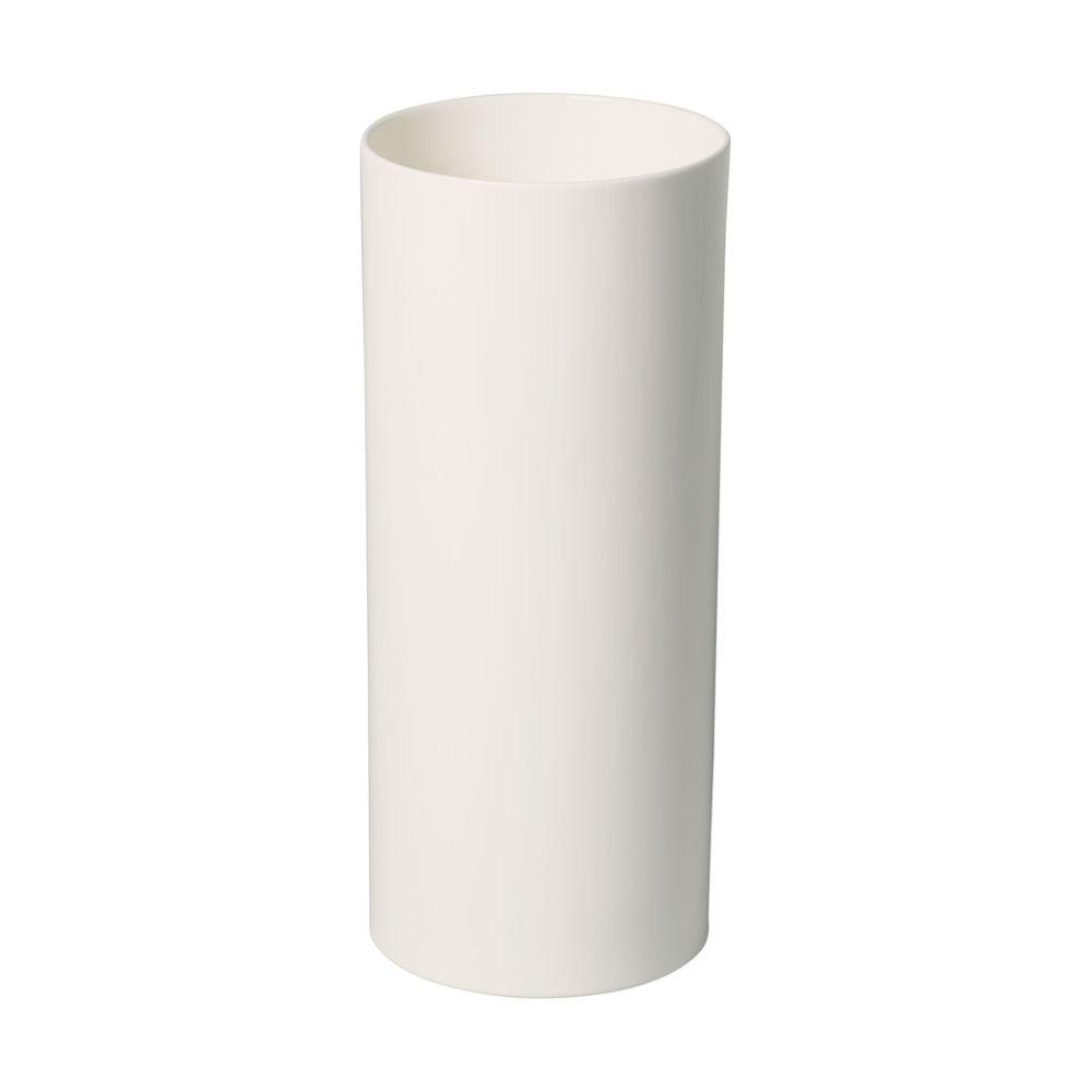 Vase hoch 13x13x30,5cm MetroChic blanc Gifts Villeroy und Boch