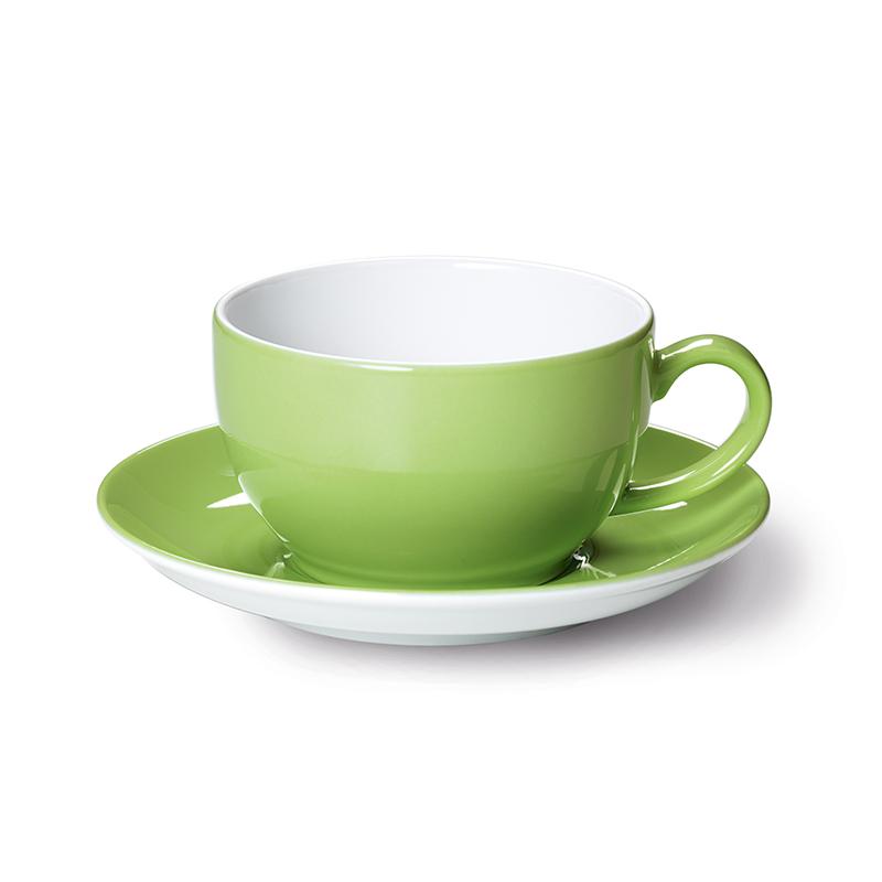 Cappuccino-Obertasse 0,30 l Solid Color Maigrün Dibbern