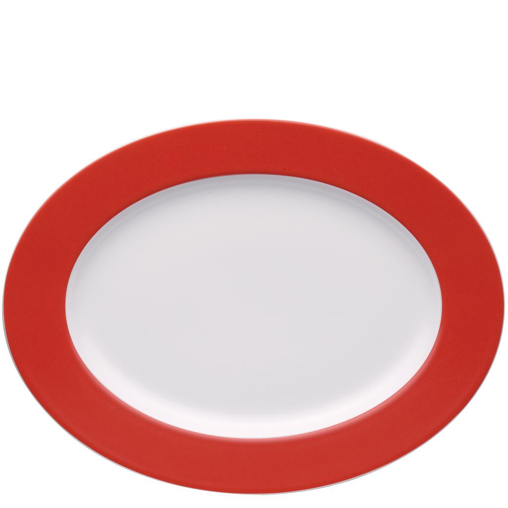 Platte 33 cm Sunny Day New Red Thomas Porzellan