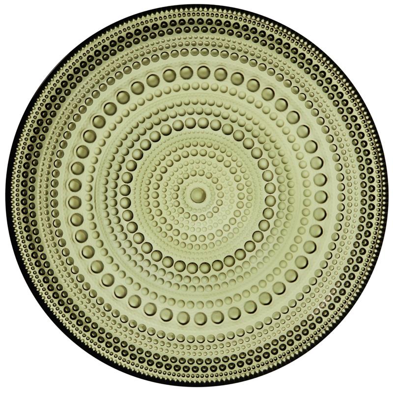 Teller – 17 cm – Moosgrün Kastehelmi Iittala