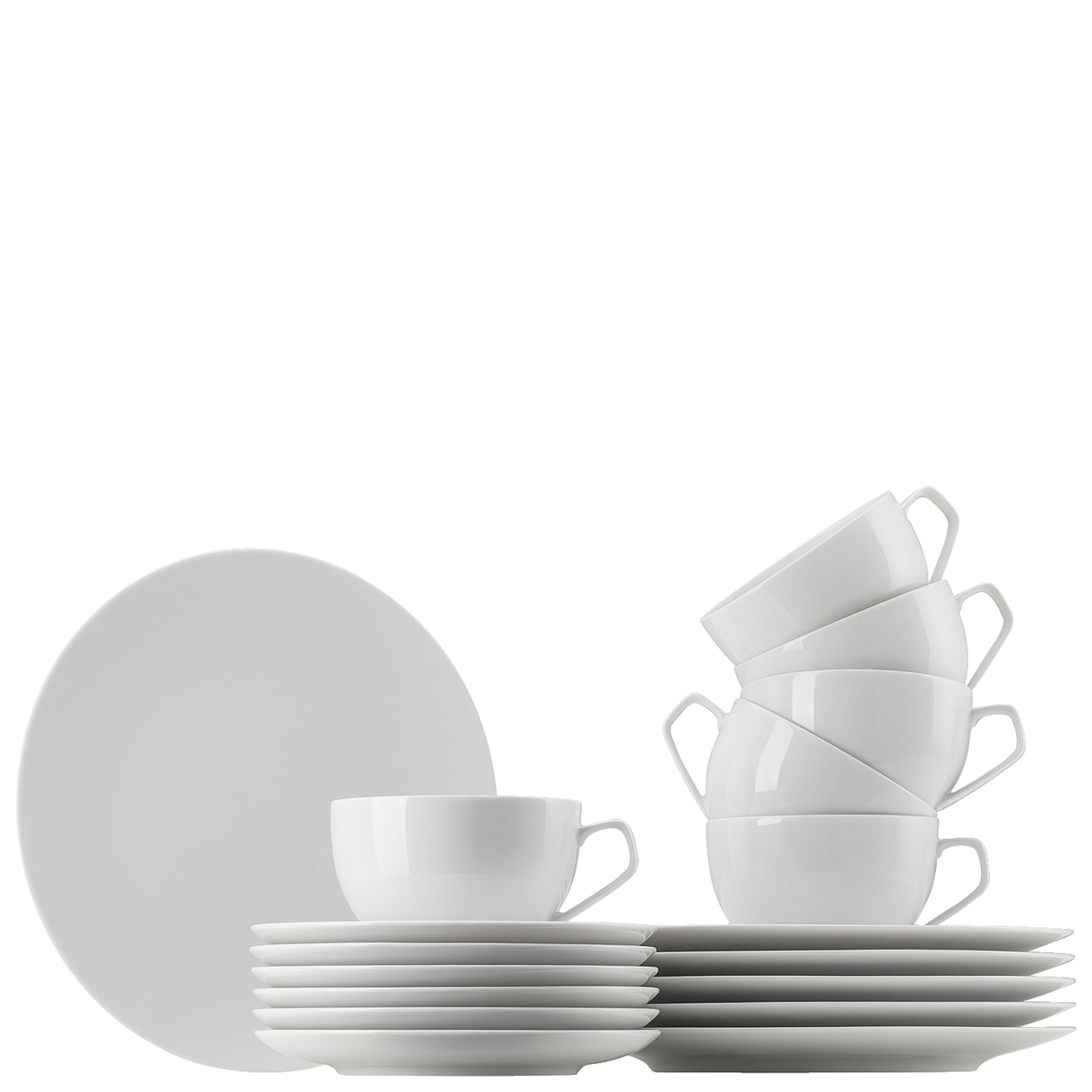 Kaffeeset 18-tlg. TAC Gropius Weiss Rosenthal Studio Line