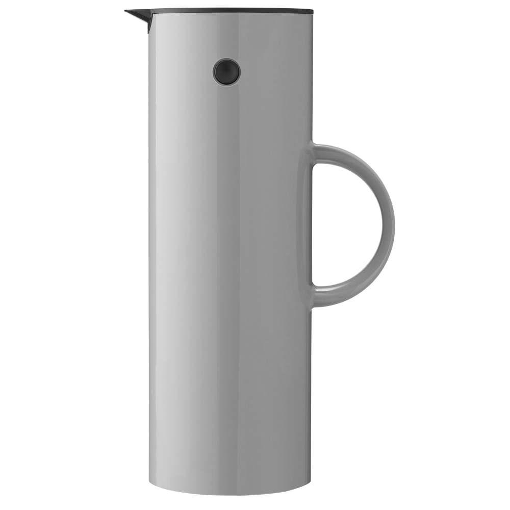 Isolierkanne, 1 l. EM77 Light grey Stelton