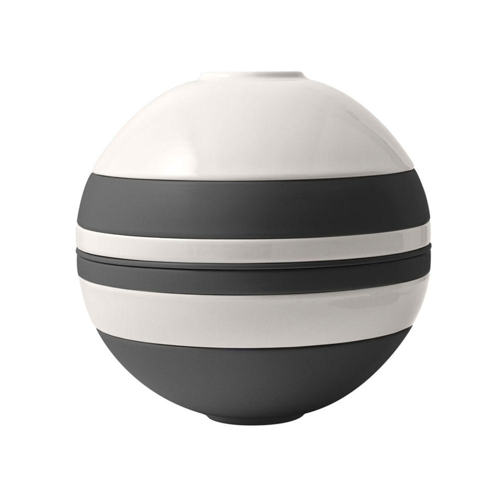 La Boule black & white 24x23,5cm Iconic Villeroy und Boch