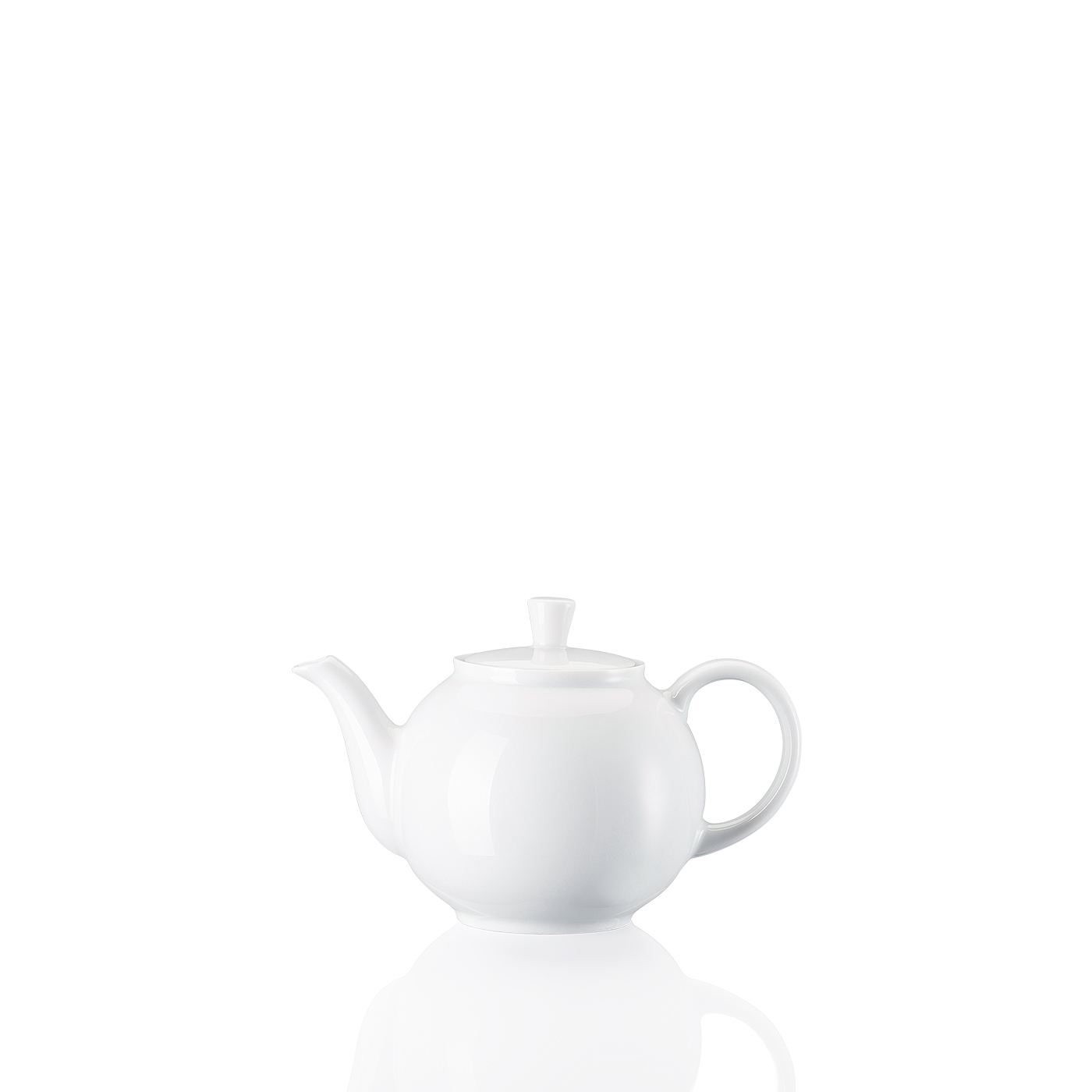 Teekanne 2 P. Form 1382 Weiss Arzberg