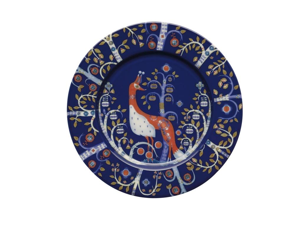 Teller - 22 cm - Blau Taika blue Iittala