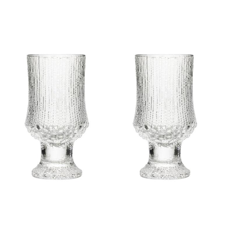 Pokal - 340 ml - Klar - 2 Stück Ultima Thule Iittala