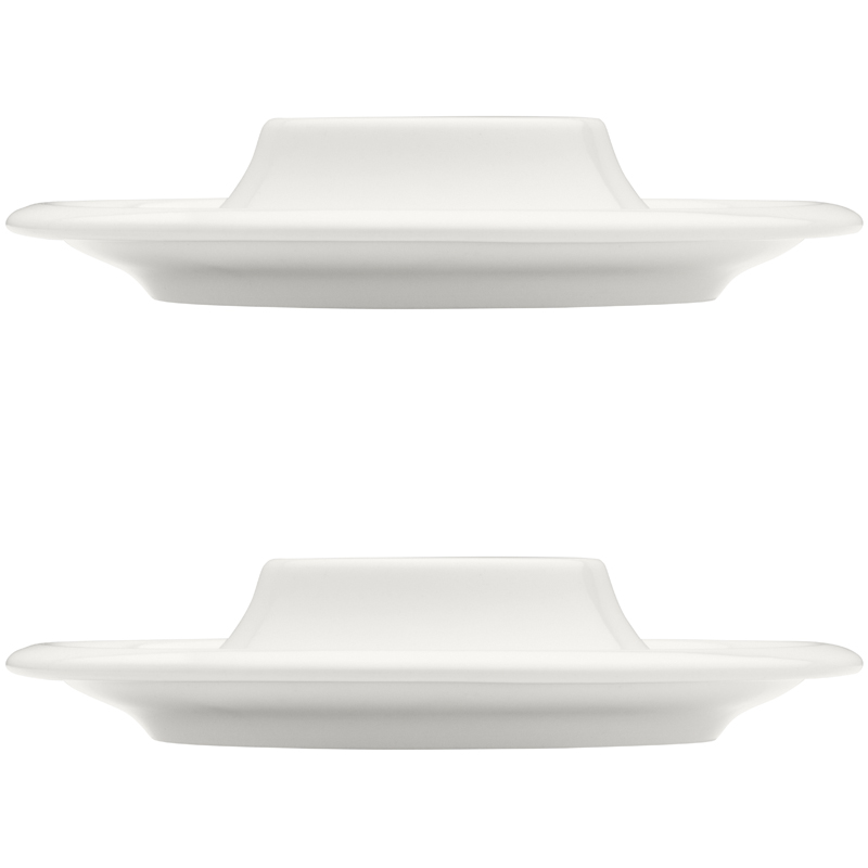 Eierbecher – 12 cm - Weiss s - 2 Stück Raami Iittala