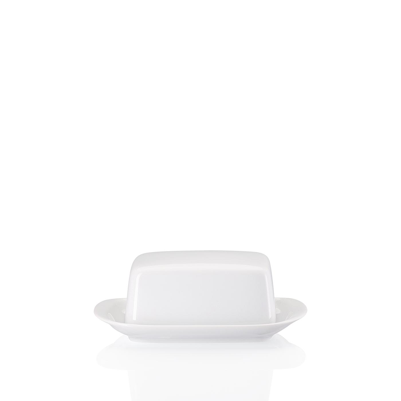 Butterdose klein Form 1382 Weiss Arzberg