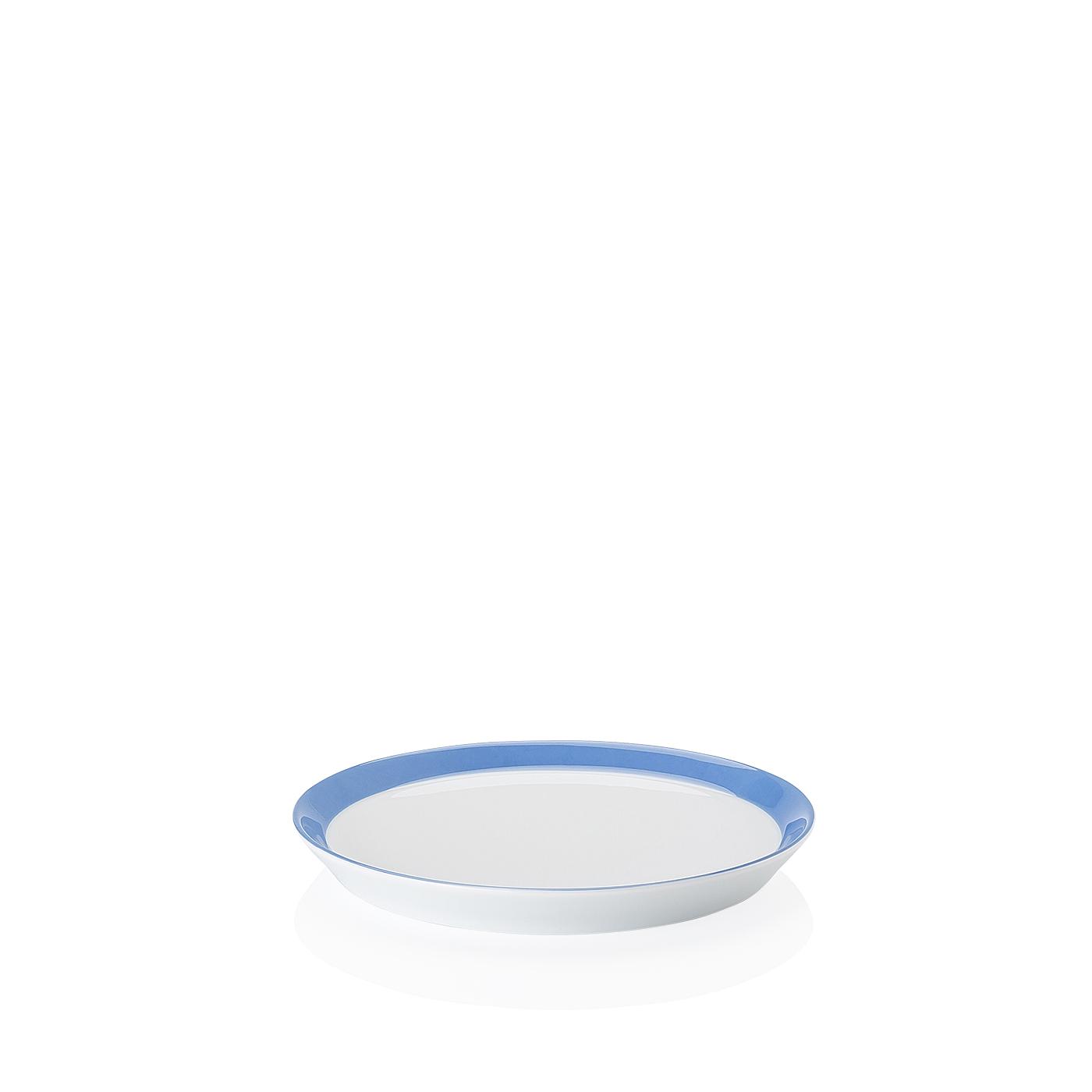 Brotteller 18 cm/Fa Tric Blau Arzberg