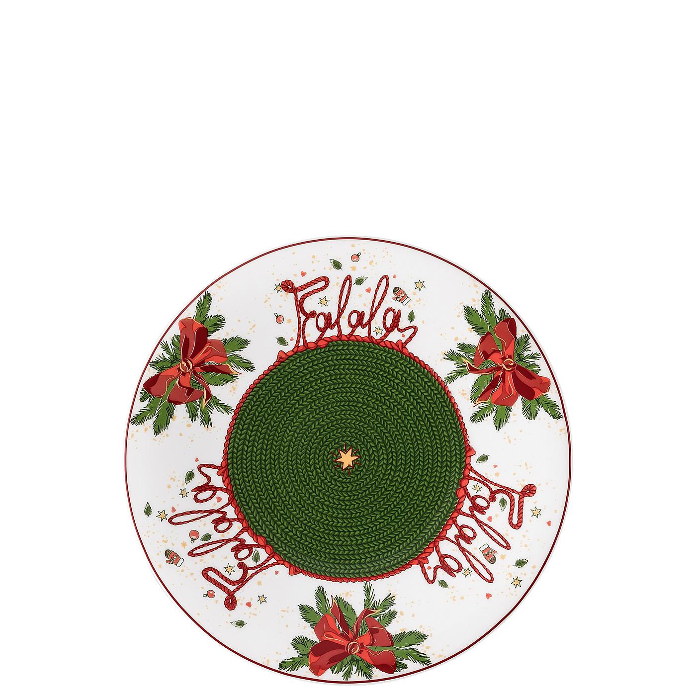 Plätzchenteller 22 cm Nora Weihnachtszeit Hutschenreuther