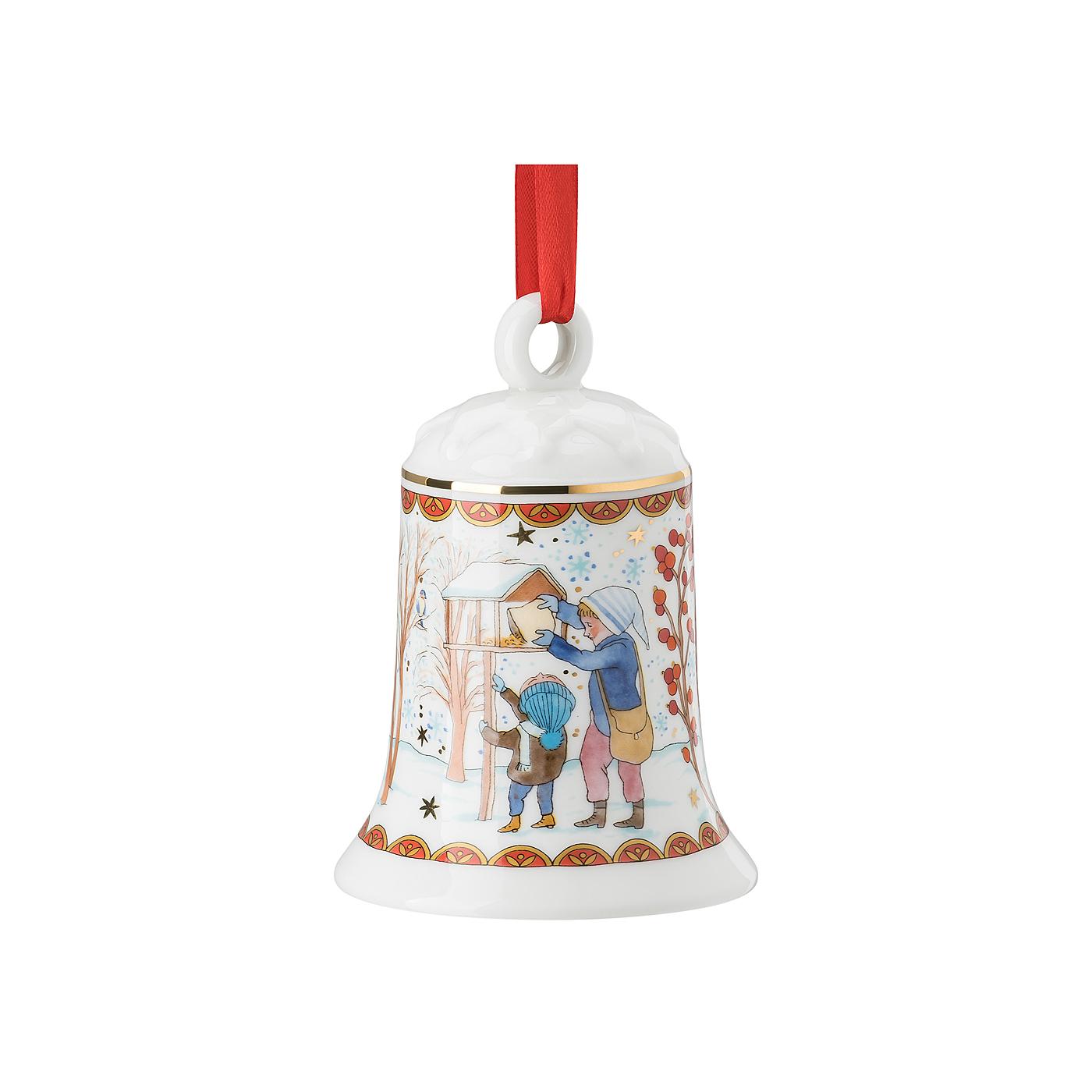 Porzellanglocke 12 cm Sammelkollektion 21 Weihnachtsgaben Hutschenreuther
