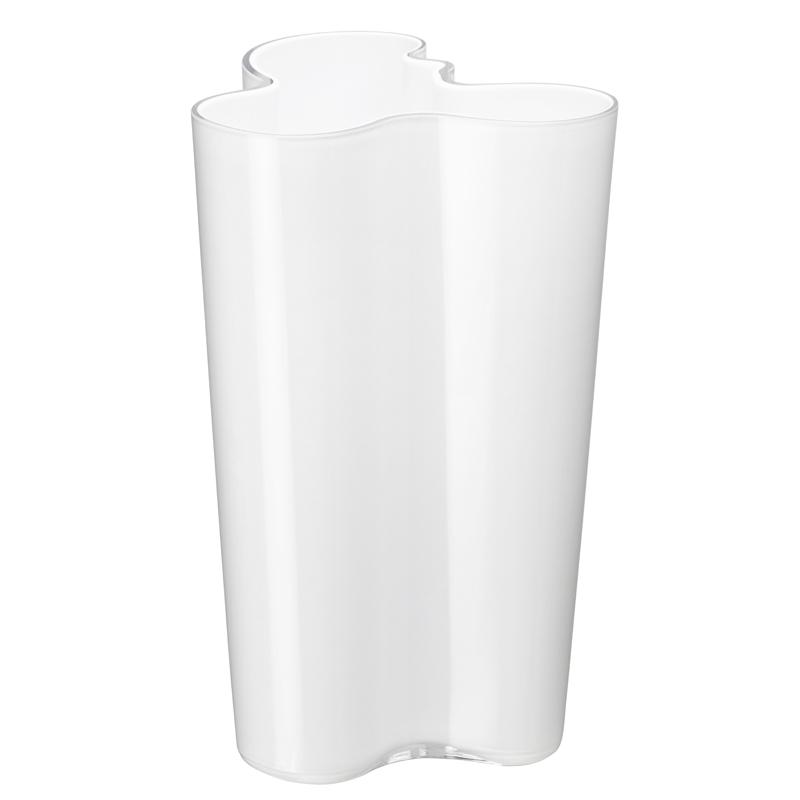 Finlandia Vase – 25,1 cm - OpalWeiss Aalto Iittala