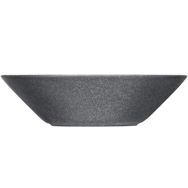 Teller tief - 21 cm - Duo grau Teema dotted grey Iittala