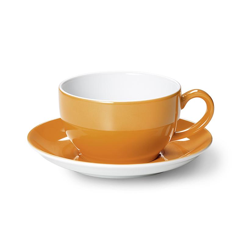 Cappuccino-Obertasse 0,30 l Solid Color Orange Dibbern