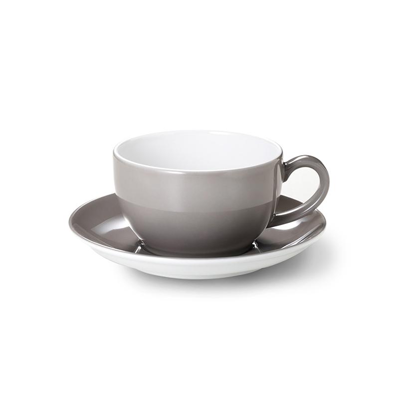Kaffee-Untertasse Solid Color Kiesel Dibbern