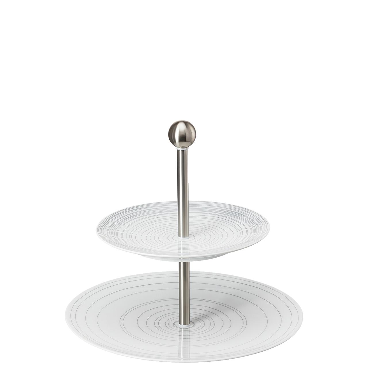 Etagere klein 2-tlg. TAC Gropius Stripes 2.0 Rosenthal Studio Line