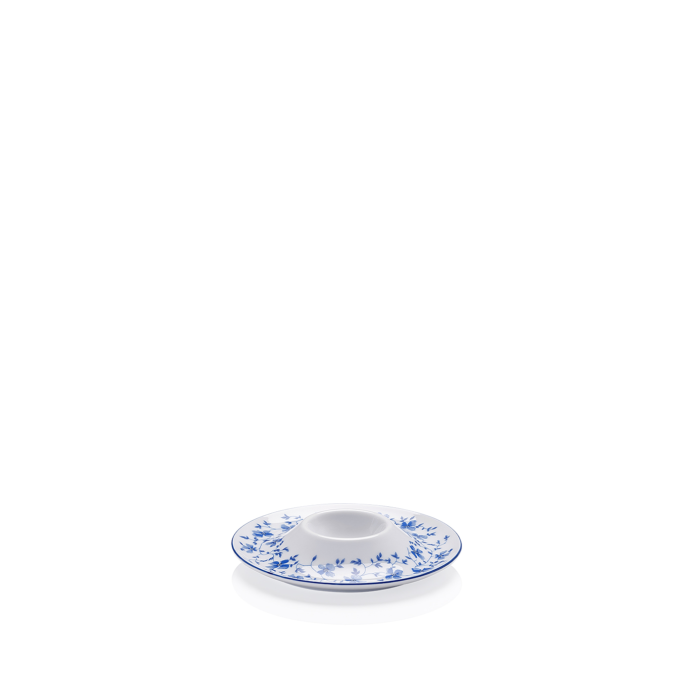 Eierbecher mit Ablage Form 1382 Blaublüten Arzberg