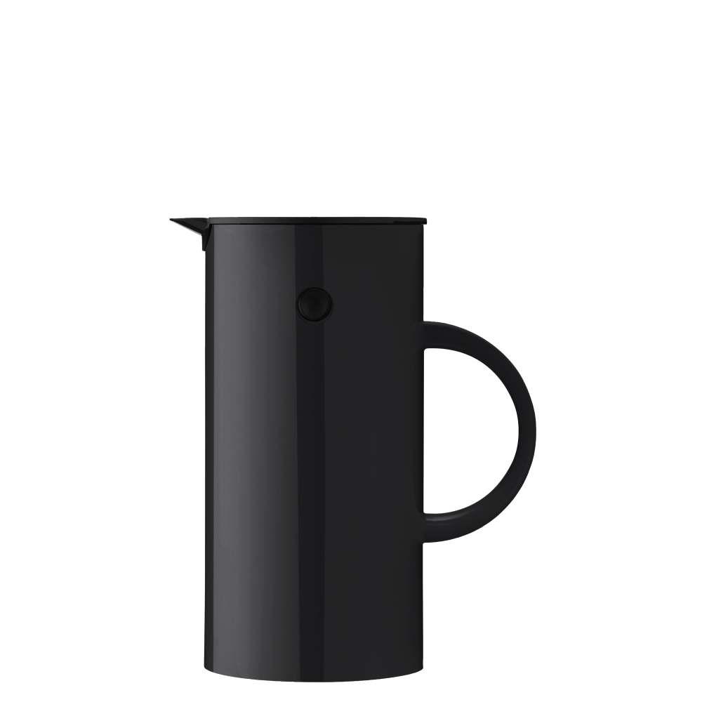 Isolierkanne, 0,5 l. EM77 Black Stelton