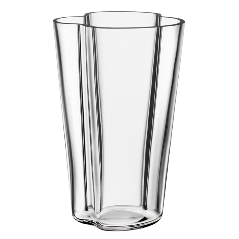 Vase – 22 cm - Klar Aalto Iittala