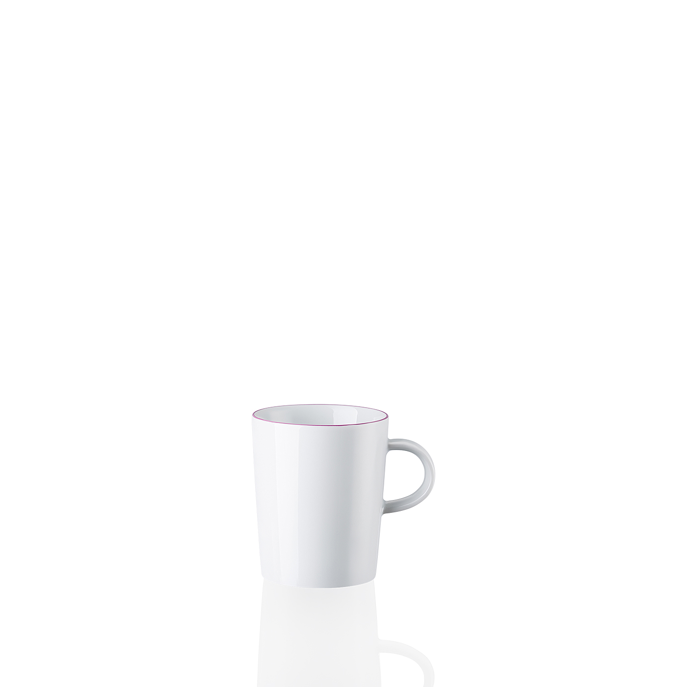 Becher mit Henkel Cucina-Basic Colori Violet Arzberg