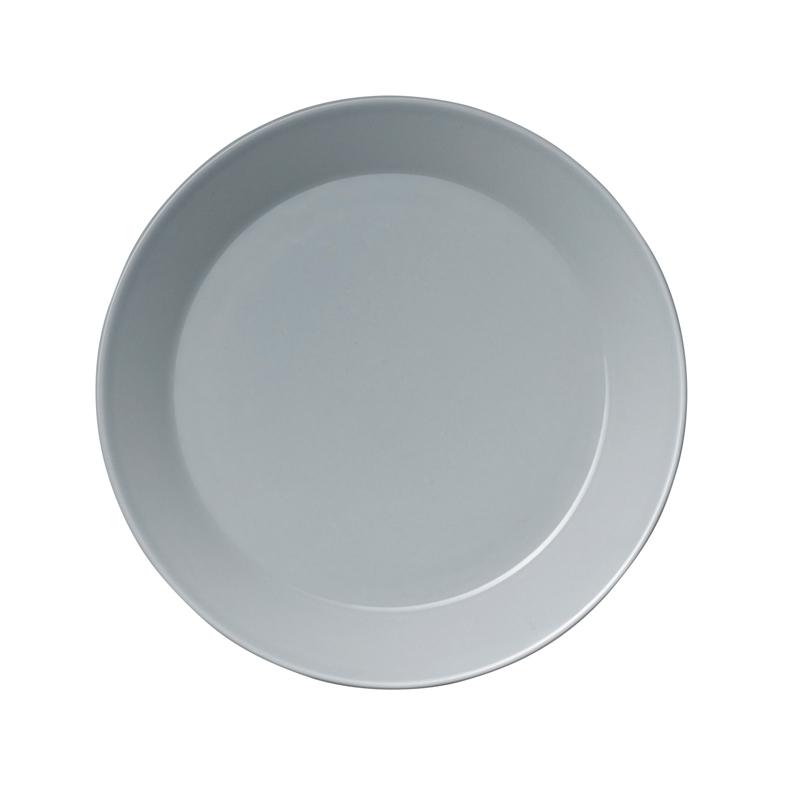 Teller - 17 cm - Perlgrau Teema pearl grey Iittala