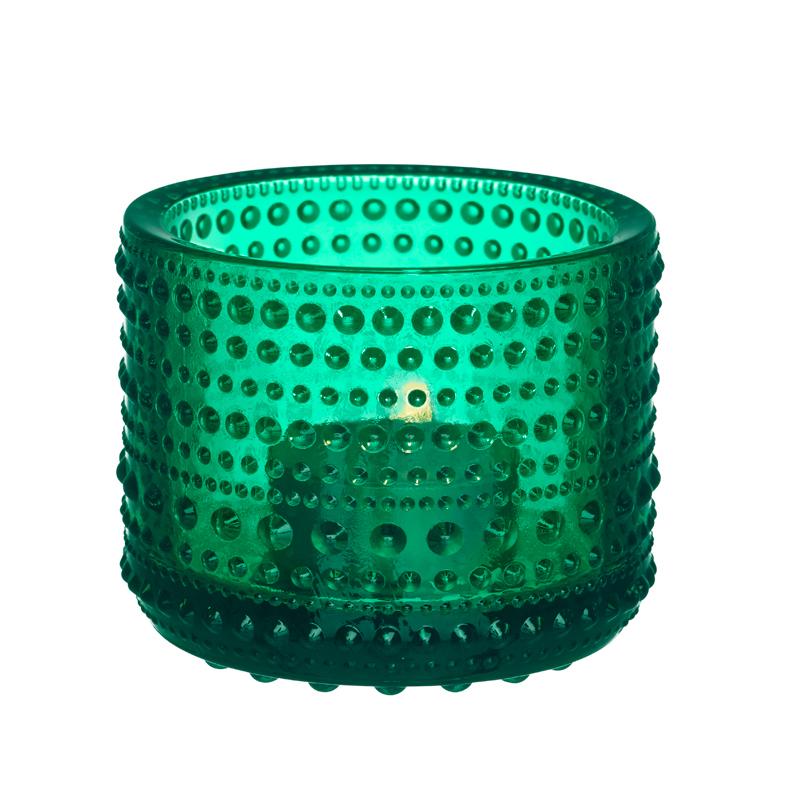 Windlicht- 6,4 cm - Emerald Kastehelmi Iittala