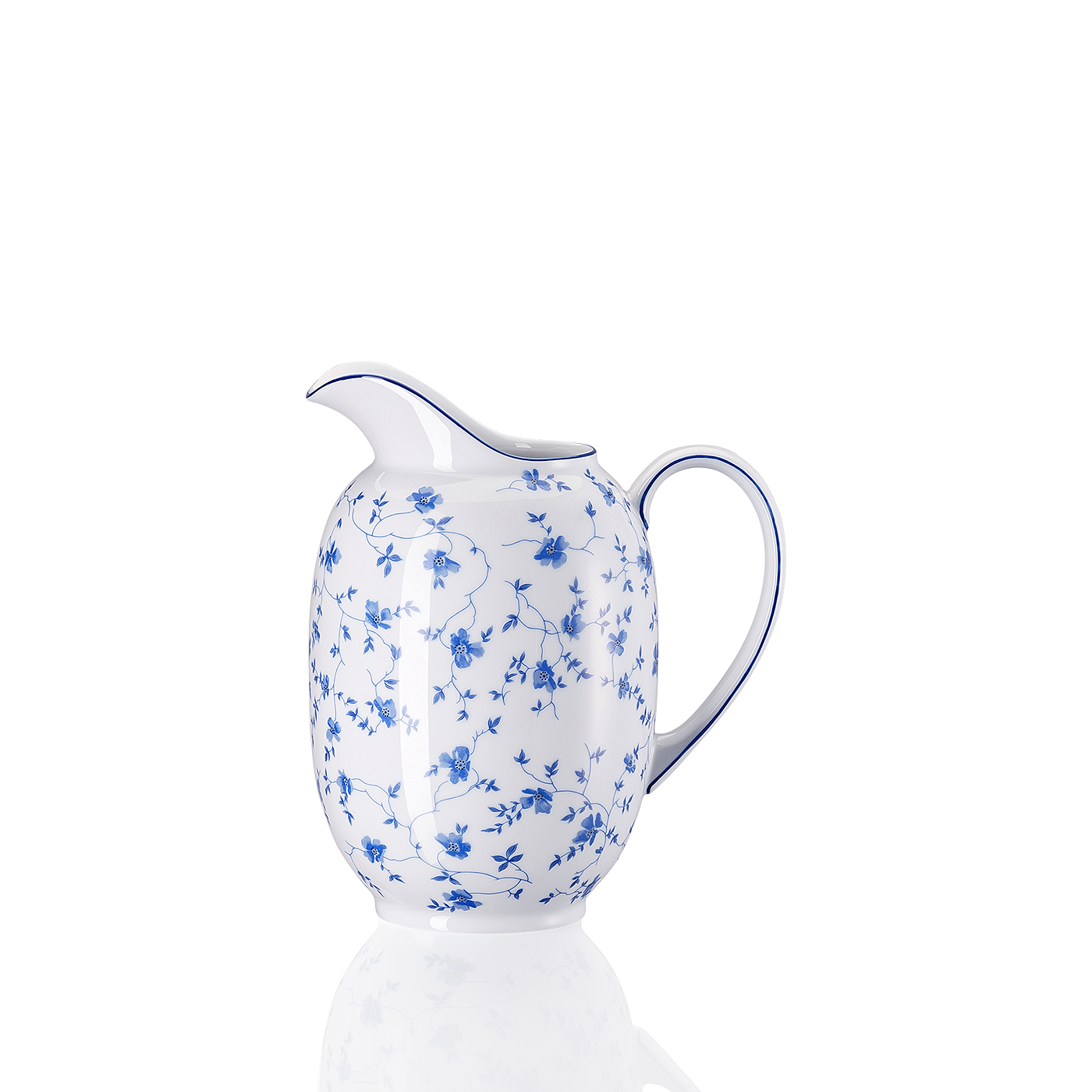 Krug Form 1382 Blaublüten Arzberg