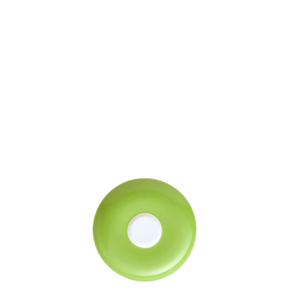 Espresso-/Mokka-Untertasse Sunny Day Apple Green Thomas Porzellan
