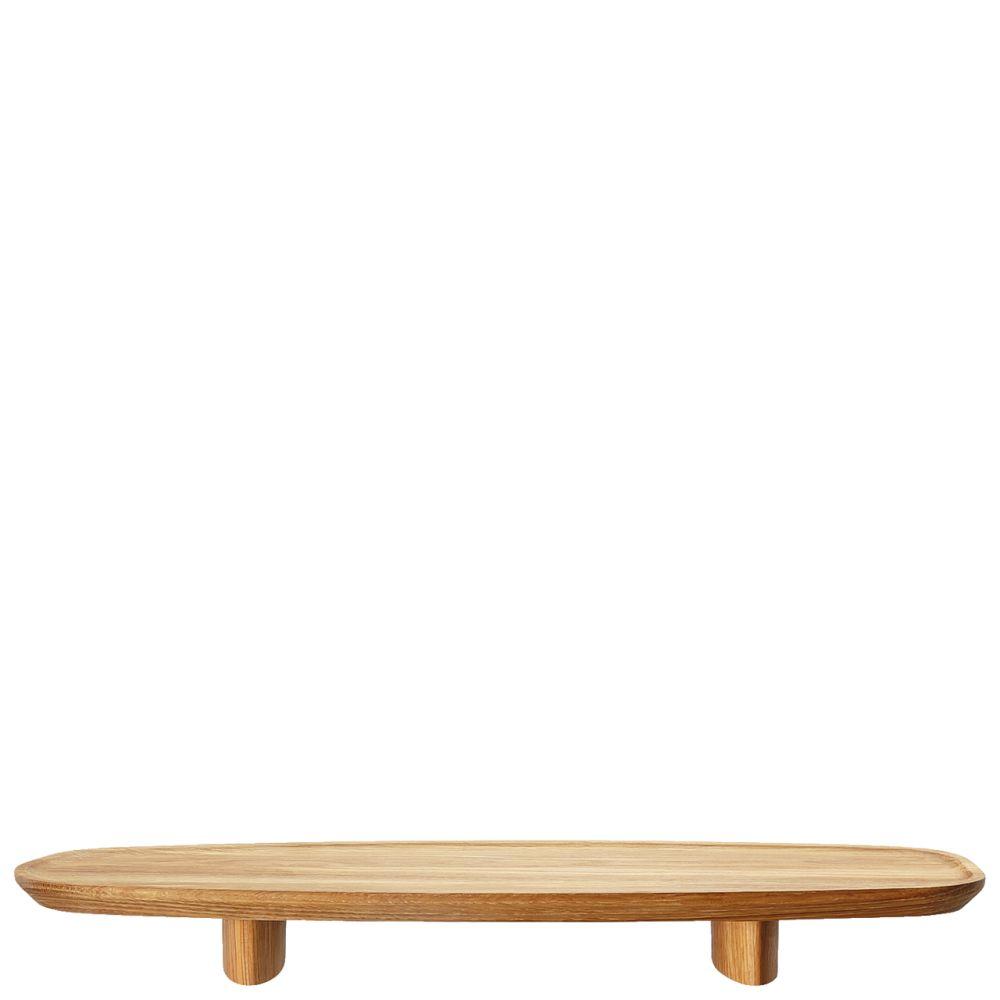 Tablett auf Fuß 45x16 cm Junto Holz Rosenthal