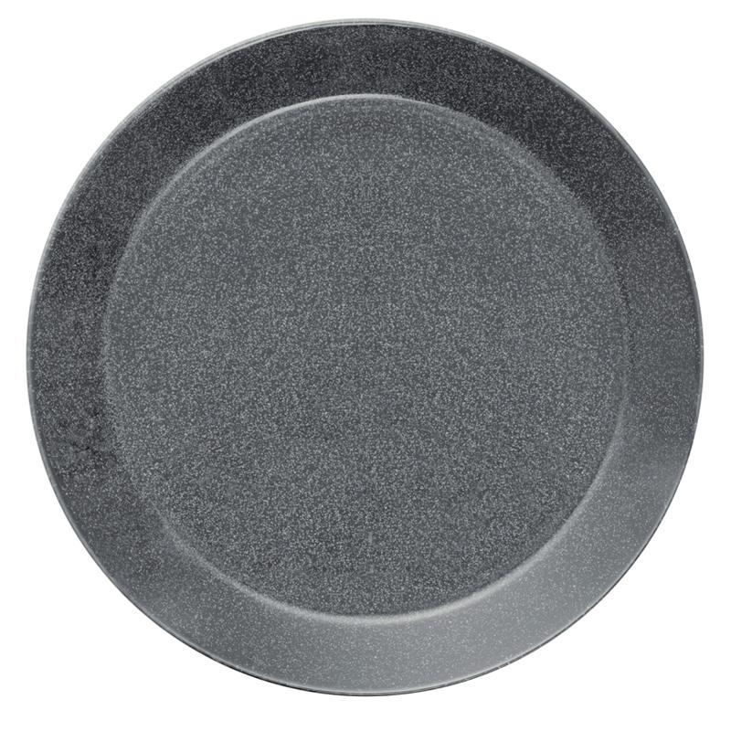 Teller - 26 cm - Duo grau Teema dotted grey Iittala