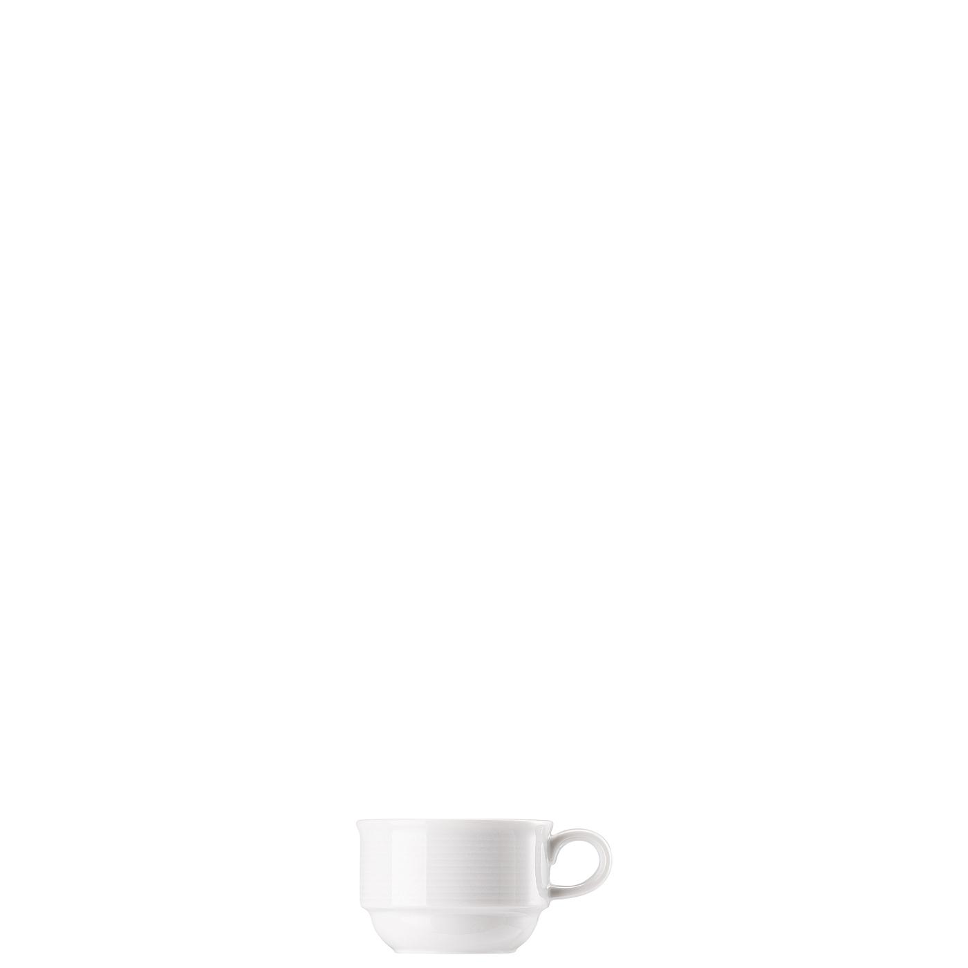 Espresso-Obertasse stapelbar Trend Weiss Thomas Porzellan