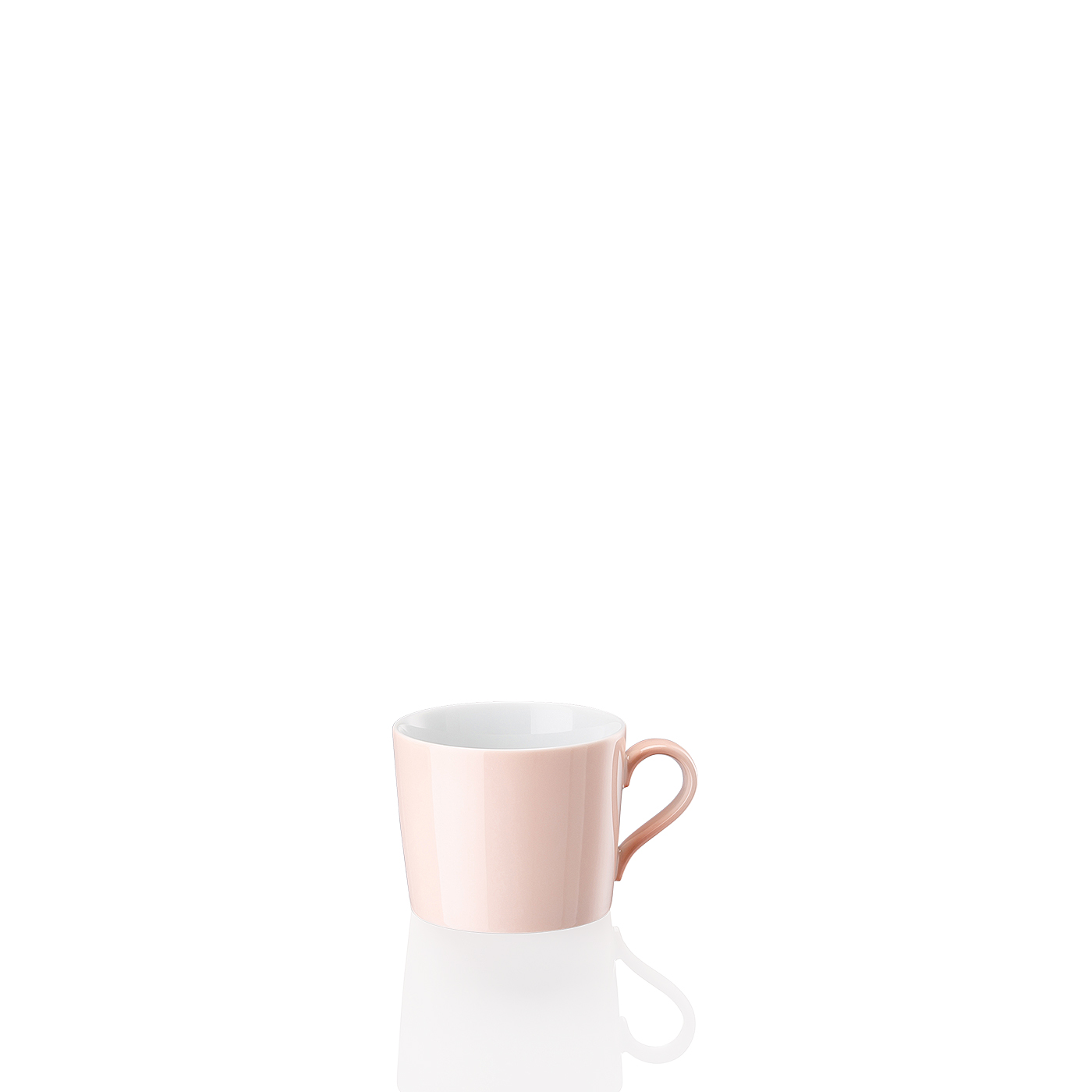Kaffee-Obertasse Tric Soft Rose Arzberg
