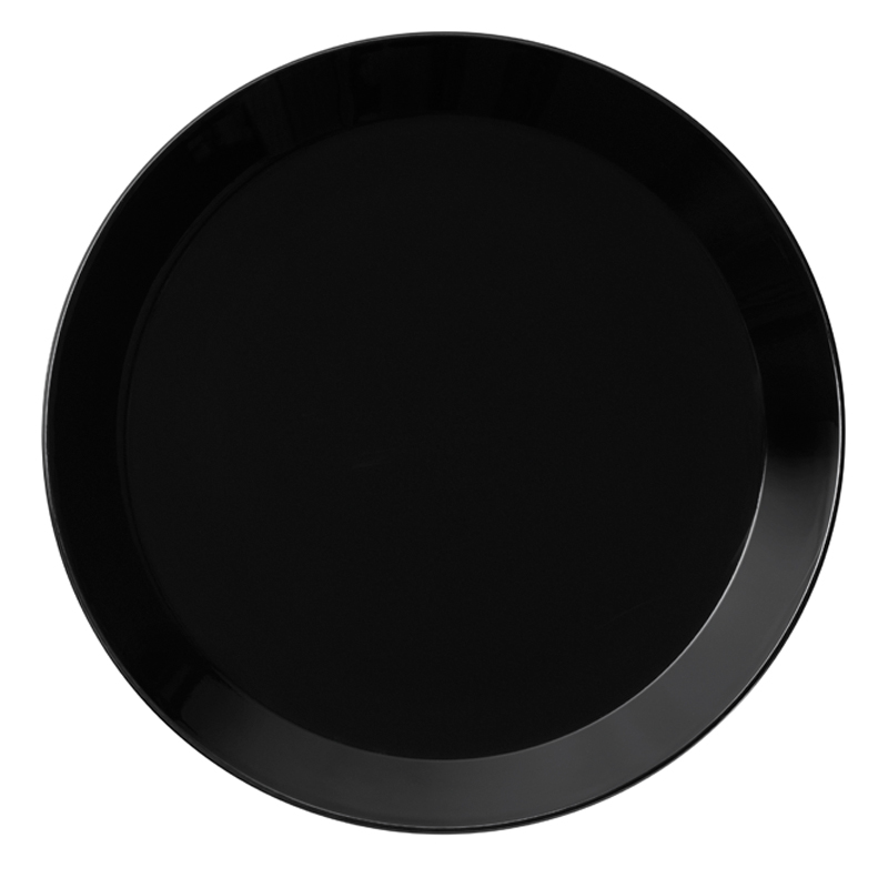 Teller - 26 cm - Schwarz Teema black Iittala