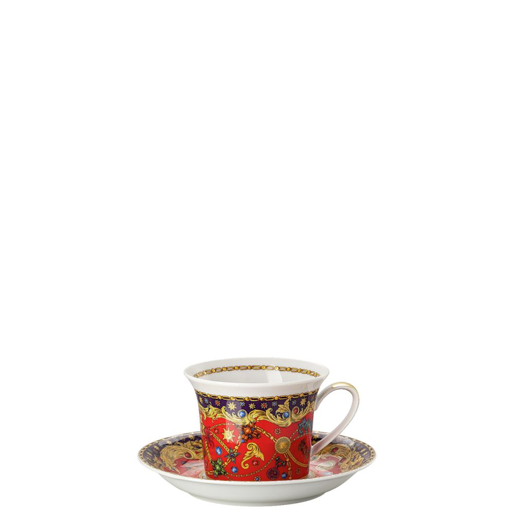 Cappuccinotasse 2-tlg. Versace Barocco Holiday Versace by Rosenthal