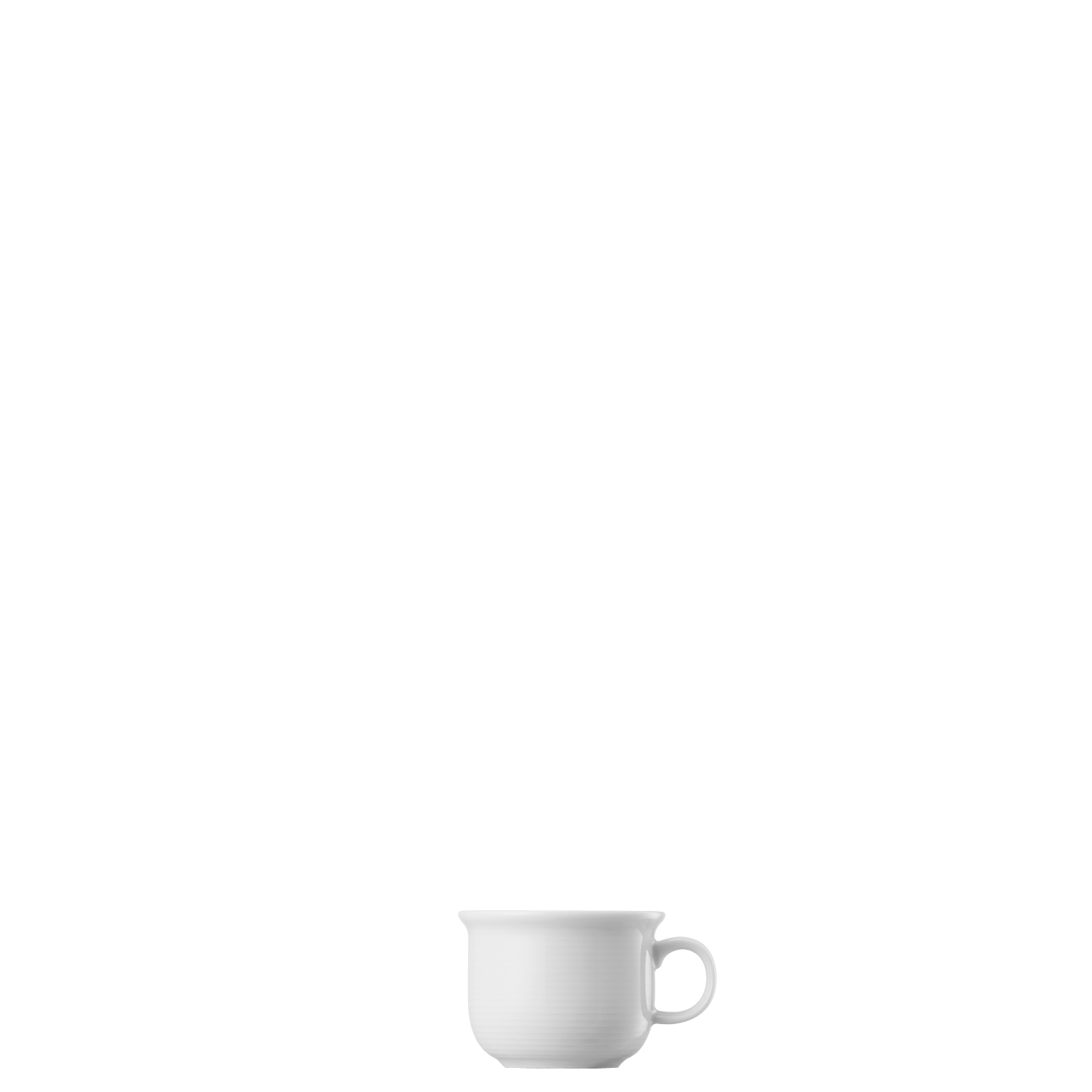 Espresso-Obertasse Trend Weiss Thomas Porzellan