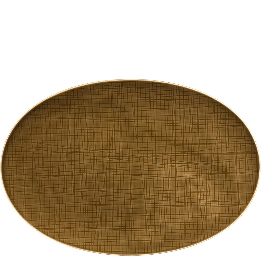 Platte 38 cm Mesh Colours Walnut Rosenthal