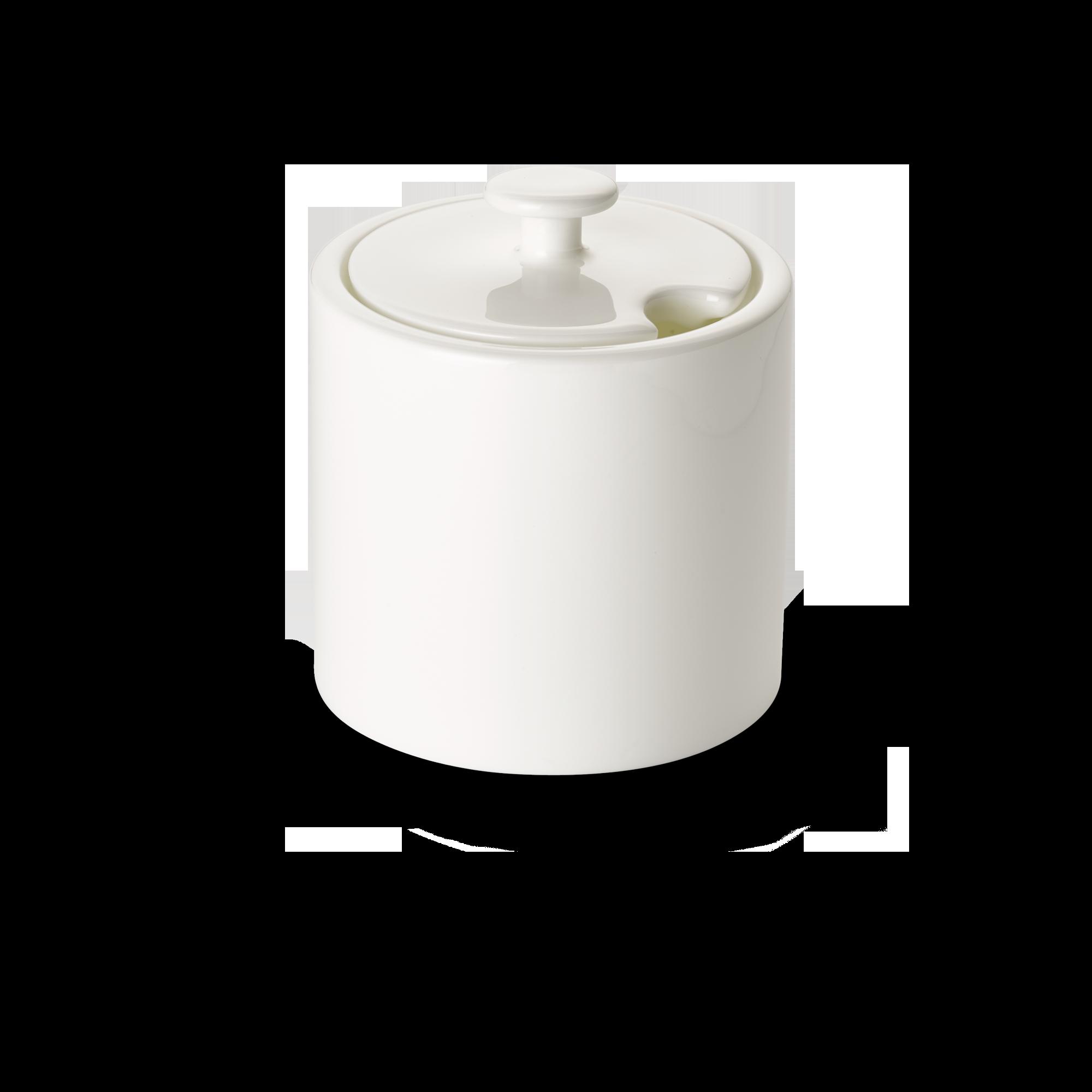 Deckel für Zuckerdose Zylindrisch 0,25 l Fine Bone China Konisch-Zylindrisch Weiss Dibbern