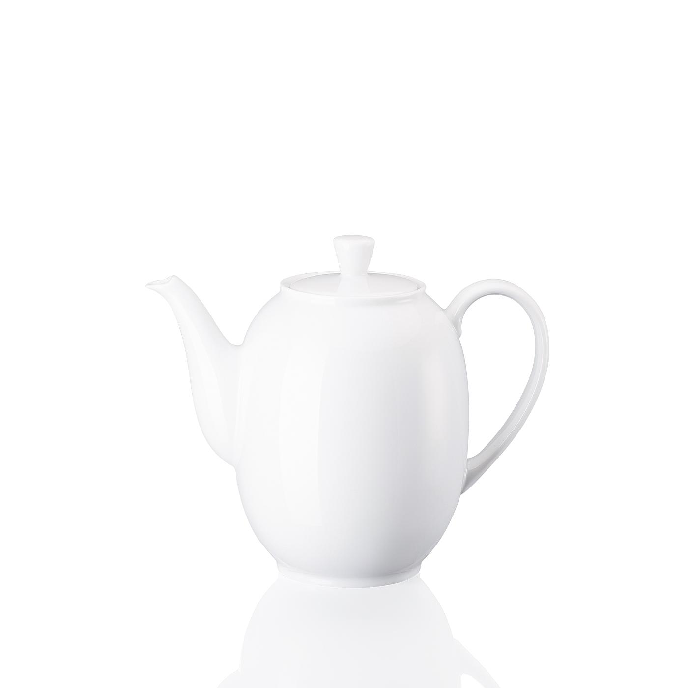 Kaffeekanne 6 P. Form 1382 Weiss Arzberg