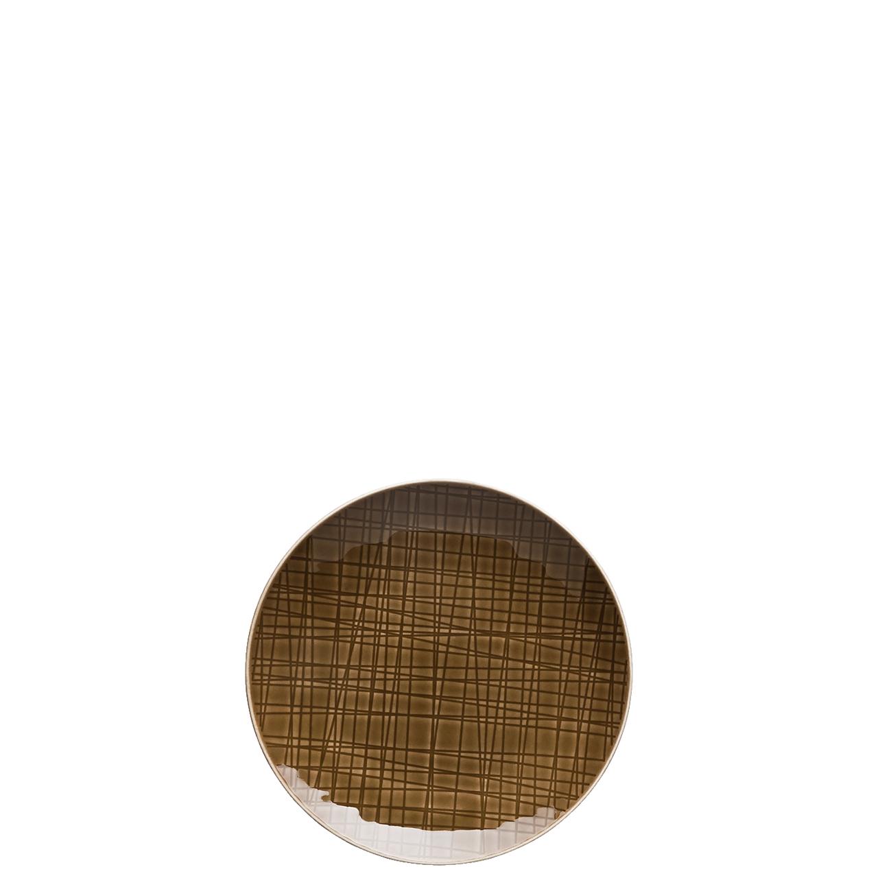 Teller flach 15 cm Mesh Colours Walnut Rosenthal