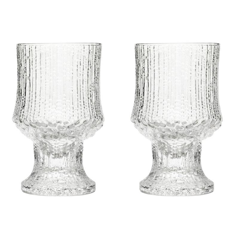 RotWeiss Glas - 230 ml - Klar - 2 Stück Ultima Thule Iittala