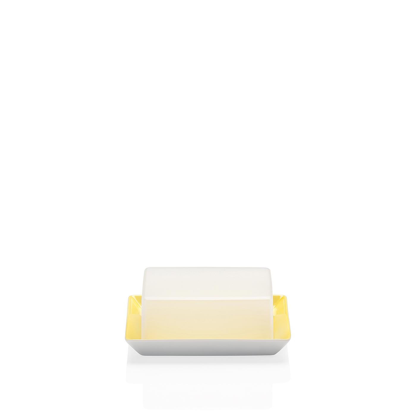 Butterdose Tric Gelb Arzberg